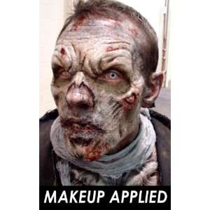 Zombie Foam Latex Professional Prosthetic Appliance, Halloween Mask