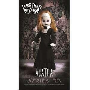 Living Dead Dolls Series 23 Tea Time AGATHA Doll w/ Skull Tea Cup NRFB