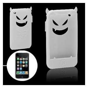 Devil Design WHITE Silicone Skin Case Cover for Apple iPhone 3G/3GS