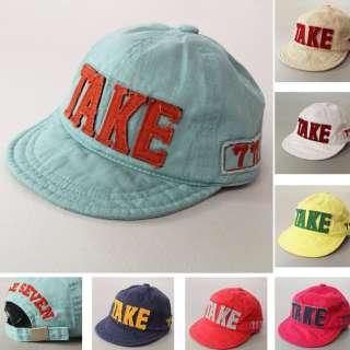 Baby Toddler Baseball Vintage Cotton Cap Hat 50cm /8 colors /Kid Boys