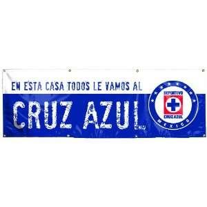INTL Club Deportivo Cruz Azul 2 by 6 Foot Vinyl Banner