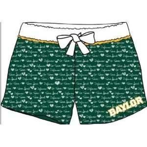 Baylor University Bears Boxer Style Pajama Night Shorts