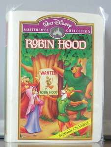 Robin Hood Figure New in Sleeved Disney Box 1996 McDonalds Happy Meal