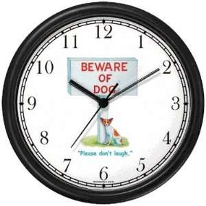 Chihuahua Dog Cartoon or Comic   JP Animal Wall Clock by