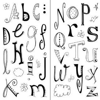 Inkadinkado Doodle Alphabet Clear Stamps Explore similar