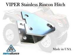 VIPER Stainless Steel HONDA Rincon ATV Hitch NEW 802
