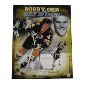Bobby Orr Boston Bruins NHL Autographed Stanley Cup