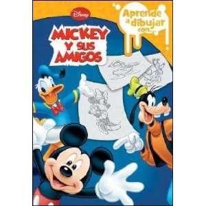 Aprende a dibujar a Mickey y sus amigos (9788499513010