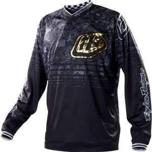 Troy Lee Designs GP History Mens Dirt Bike Motorcycle Jersey   Black