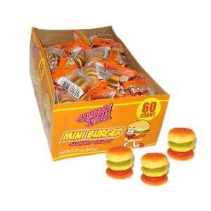 Gummy Zone Mini Burgers (Pack of 60) Grocery & Gourmet Food
