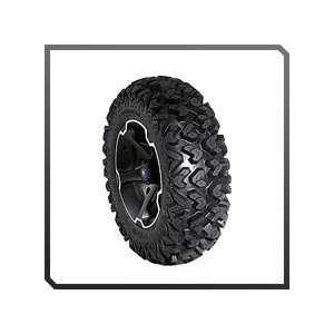 Polaris RZR   Vader 14 Rim With Sedona Ripsaw Tire Kit Automotive