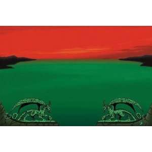 Dragon Shield Red Zone Playmat Toys & Games