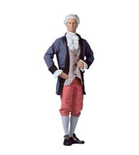 Distinguished Colonial Man Adult Mens Halloween Costume