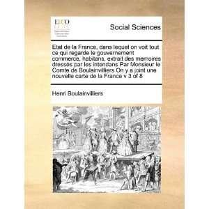 carte de la France v 3 of 8 (French Edition) (9781171418894): Henri