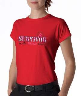 Survivor of Breast Kind Cancer Ladies Tee Shirt