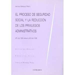 DE SEGURIDAD SOCIAL Y LA REDUCCION DE LOS (9788481518153) Books