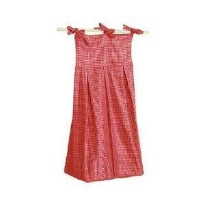 Tadpoles Classics Gingham Red   Diaper Stacker: Baby