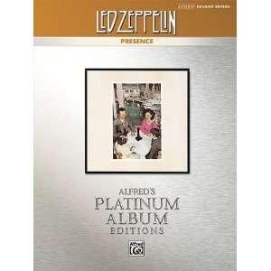 00 34862 Led Zeppelin  Presence Platinum Drums Musical Instruments