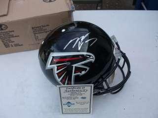 Mike Vick Signed F/S Helmet Falcons, Eagles Radtke Sports Coa
