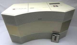 Acoustic Wave Music System Series III Model CD 3000 CD AM/FM Radio