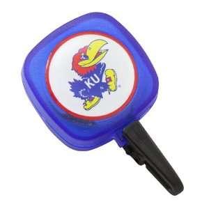 NCAA Kansas Jayhawks Royal Blue ID Badge Reel