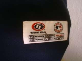 New True Fan Navy Sewn Mens San Diego Padres Baseball Team Jersey XL