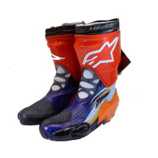 Alpinestars Supertech Vented Racing Motorcycle Boots