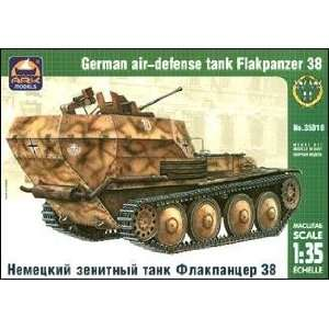 Flakpanzer 38(t) WWII German Air Defense Tank 1 35 Ark Toys & Games