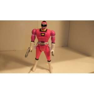 POWER RANGERS PINK TRIPLE ACTION FIGURE Toys & Games