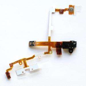 Earphone Jack Power Volume Switch Flex Cable for iPhone 3G