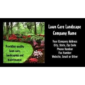 Landscape Lawn Care Business Business Card Templates: Office Products