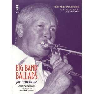 Hal Leonard Big Band Ballads Trombone Musical Instruments