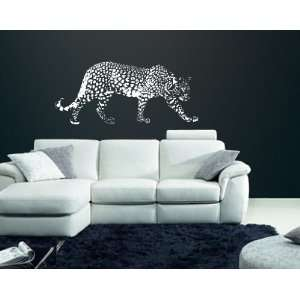 African Cheetah Jaguar Leopard Vinyl Wall Mural Decal 50