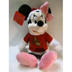 Disney Christmas Holiday Minnie Mouse Plush Everything