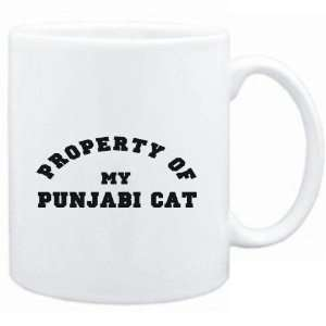 Mug White  PROPERTY OF MY Punjabi  Cats Sports