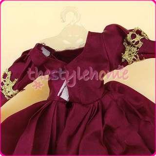 Princess Handmade Dress Fashion Gown for Barbie doll