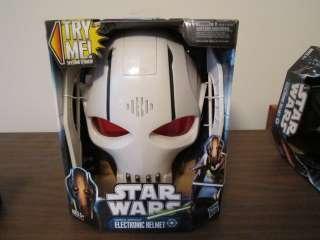 STAR WARS General Grievous Electronic Helmet new mask sounds voice