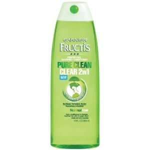 Garnier Fructis Pure Clean 2 in 1 Shampoo and Conditioner