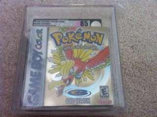 VGA Graded 85 NM+ Pokemon Gold Version Brand New Sealed Nintendo Game