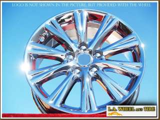 17 LEXUS ES350 OEM CHROME WHEELS RIMS ES330 EXCHANGE