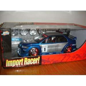 Jada Import Racer Mitsubishi Lancer Evolution Viii with 2