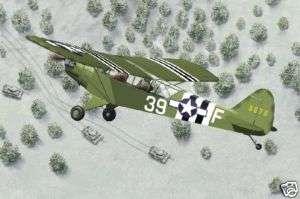 Bronco 35014 WWII Piper Cub L4H Grasshopper Aircraft 1