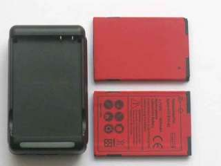 New 2X 1800MAH Battery+Charger for Sprint HTC EVO Shift 4G