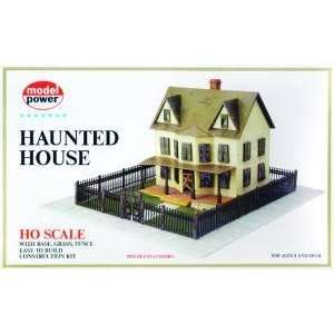 Model Power 486 HO Scale Haunted House Building Kit Toys & Games