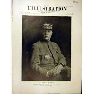 1918 Portrait General Fayolle Military Commander French