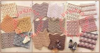 Version Japanese Crochet Craft Pattern Book 262 Design Stitch