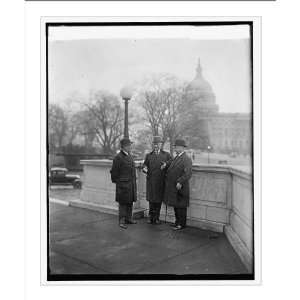 Historic Print (L) W.F.Kenney, Al Smith, Sen. Robt