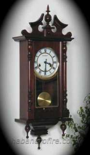 NEW Genuine Kassel Chiming Heirloom Wall Clock with Pendulum & Winding