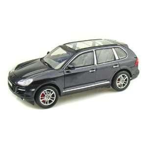 Porsche Cayenne Turbo 1/18 Metallic Black: Toys & Games
