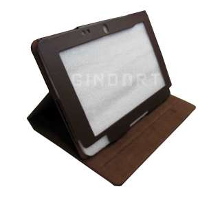 Leather Stand Folio Case Cover for Acer Iconia Tab W500